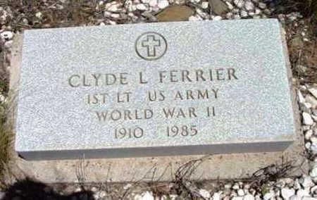 FERRIER, CLYDE L. - Yavapai County, Arizona | CLYDE L. FERRIER - Arizona Gravestone Photos