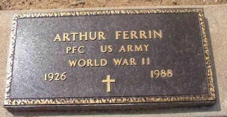 FERRIN, ARTHUR D. - Yavapai County, Arizona | ARTHUR D. FERRIN - Arizona Gravestone Photos