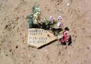 FIATTE, HENRIETTA - Yavapai County, Arizona | HENRIETTA FIATTE - Arizona Gravestone Photos