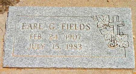 FIELDS, EARL G. - Yavapai County, Arizona | EARL G. FIELDS - Arizona Gravestone Photos