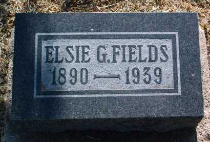 FIELDS, ELSIE GOLDIE - Yavapai County, Arizona | ELSIE GOLDIE FIELDS - Arizona Gravestone Photos
