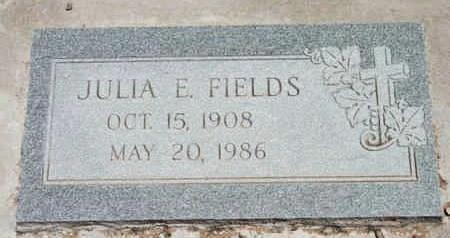 NOLL  FIELDS, JULIA E. - Yavapai County, Arizona | JULIA E. NOLL  FIELDS - Arizona Gravestone Photos