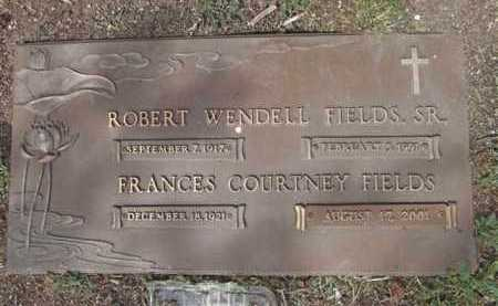 FIELDS, ROBERT WENDELL, SR. - Yavapai County, Arizona | ROBERT WENDELL, SR. FIELDS - Arizona Gravestone Photos