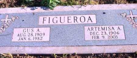FIGUEROA, GUS A. - Yavapai County, Arizona   GUS A. FIGUEROA - Arizona Gravestone Photos