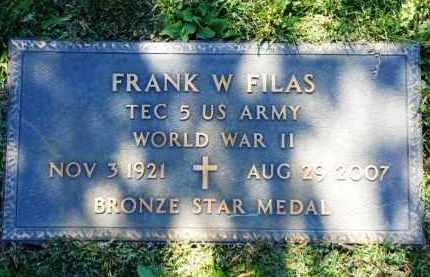 FILAS, FRANK WILLIAM - Yavapai County, Arizona | FRANK WILLIAM FILAS - Arizona Gravestone Photos