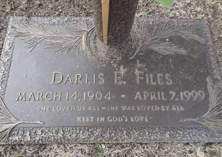 FILES, DARLIS ELIZABETH - Yavapai County, Arizona | DARLIS ELIZABETH FILES - Arizona Gravestone Photos