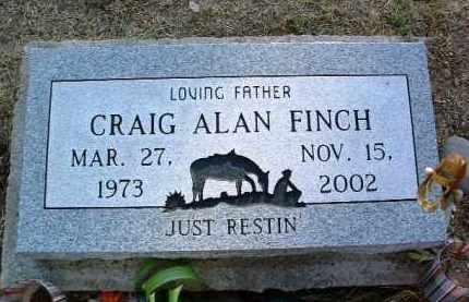 FINCH, CRAIG ALAN - Yavapai County, Arizona   CRAIG ALAN FINCH - Arizona Gravestone Photos