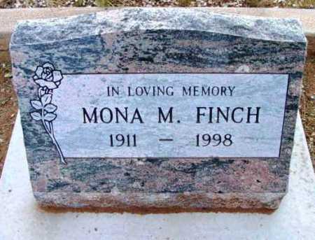 FINCH, MONA M. - Yavapai County, Arizona | MONA M. FINCH - Arizona Gravestone Photos
