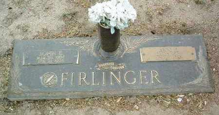 FIRLINGER, ANNA J. - Yavapai County, Arizona | ANNA J. FIRLINGER - Arizona Gravestone Photos