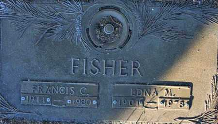 FISHER, FRANCIS C. - Yavapai County, Arizona | FRANCIS C. FISHER - Arizona Gravestone Photos