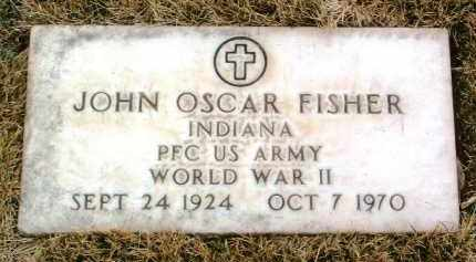 FISHER, JOHN OSCAR - Yavapai County, Arizona | JOHN OSCAR FISHER - Arizona Gravestone Photos