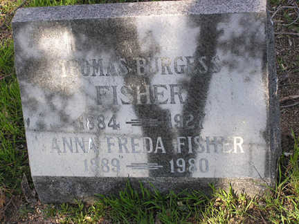 FISHER, THOMAS BURGESS - Yavapai County, Arizona | THOMAS BURGESS FISHER - Arizona Gravestone Photos