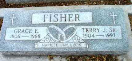 FISHER, TERRY J., SR. - Yavapai County, Arizona   TERRY J., SR. FISHER - Arizona Gravestone Photos