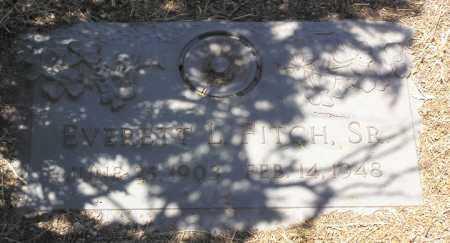 FITCH, EVERETT LAWRENCE, SR. - Yavapai County, Arizona | EVERETT LAWRENCE, SR. FITCH - Arizona Gravestone Photos