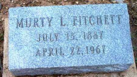 FITCHETT, MURTY LEE - Yavapai County, Arizona | MURTY LEE FITCHETT - Arizona Gravestone Photos