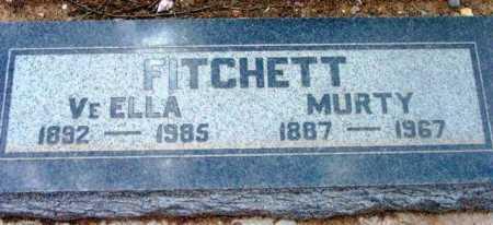 FITCHETT, MURTY LEE - Yavapai County, Arizona   MURTY LEE FITCHETT - Arizona Gravestone Photos