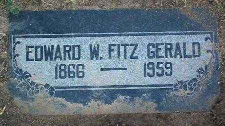 FITZGERALD, EDWARD WM. - Yavapai County, Arizona   EDWARD WM. FITZGERALD - Arizona Gravestone Photos