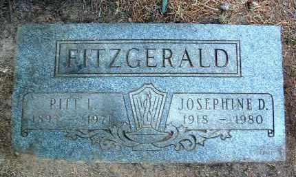 FITZGERALD, PITT L. - Yavapai County, Arizona | PITT L. FITZGERALD - Arizona Gravestone Photos