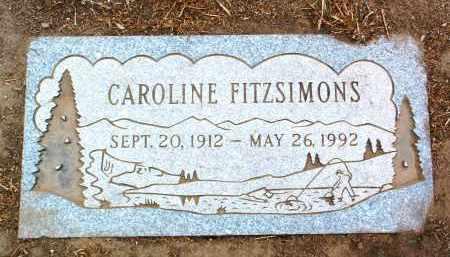 FITZSIMONS, CAROLINE - Yavapai County, Arizona | CAROLINE FITZSIMONS - Arizona Gravestone Photos