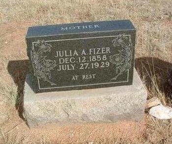 FIZER, JULIA ANN - Yavapai County, Arizona | JULIA ANN FIZER - Arizona Gravestone Photos