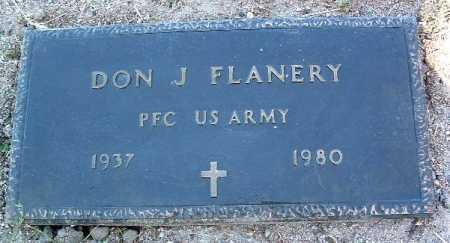 FLANERY, DON J. - Yavapai County, Arizona | DON J. FLANERY - Arizona Gravestone Photos