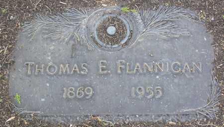FLANNIGAN, THOMAS E. - Yavapai County, Arizona | THOMAS E. FLANNIGAN - Arizona Gravestone Photos