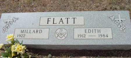 FLATT, MILLARD - Yavapai County, Arizona | MILLARD FLATT - Arizona Gravestone Photos