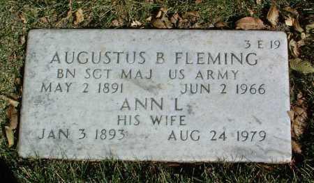 FLEMING, AUGUSTUS B. - Yavapai County, Arizona | AUGUSTUS B. FLEMING - Arizona Gravestone Photos