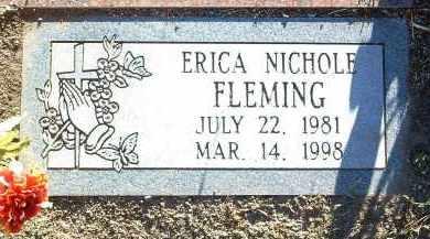 FLEMING, ERICA NICHOLE - Yavapai County, Arizona | ERICA NICHOLE FLEMING - Arizona Gravestone Photos