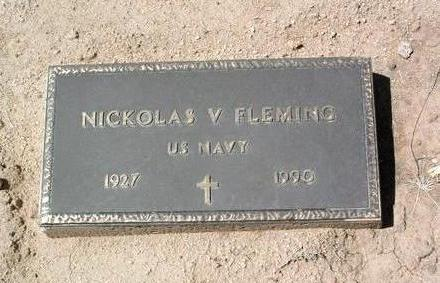 FLEMING, NICKOLAS V. - Yavapai County, Arizona | NICKOLAS V. FLEMING - Arizona Gravestone Photos