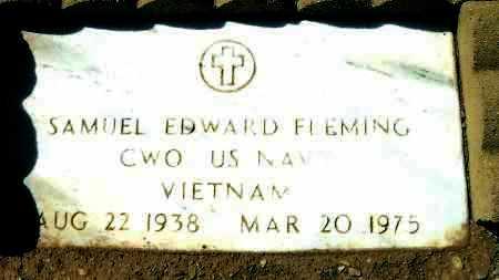 FLEMING, SAMUEL EDWARD - Yavapai County, Arizona   SAMUEL EDWARD FLEMING - Arizona Gravestone Photos