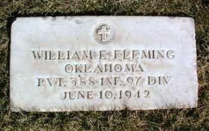 FLEMING, WILLIAM E. - Yavapai County, Arizona   WILLIAM E. FLEMING - Arizona Gravestone Photos