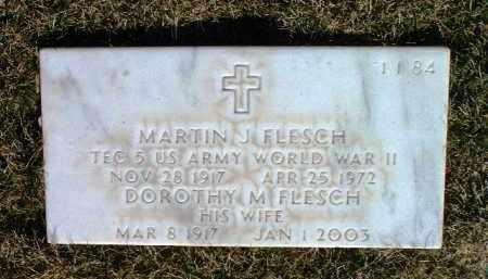 FLESCH, MARTIN J. - Yavapai County, Arizona | MARTIN J. FLESCH - Arizona Gravestone Photos