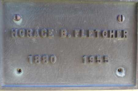 FLETCHER, HORACE B. - Yavapai County, Arizona | HORACE B. FLETCHER - Arizona Gravestone Photos