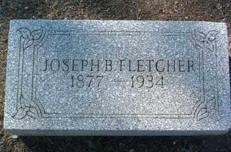 FLETCHER, JOSEPH B. - Yavapai County, Arizona   JOSEPH B. FLETCHER - Arizona Gravestone Photos