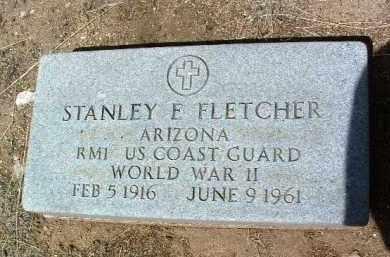 FLETCHER, STANLEY EDWARD - Yavapai County, Arizona   STANLEY EDWARD FLETCHER - Arizona Gravestone Photos