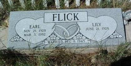 FLICK, EARL EVANS, SR. - Yavapai County, Arizona | EARL EVANS, SR. FLICK - Arizona Gravestone Photos