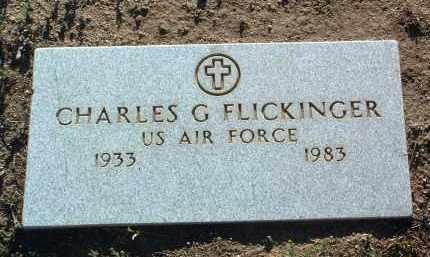FLICKINGER, CHARLES G. - Yavapai County, Arizona | CHARLES G. FLICKINGER - Arizona Gravestone Photos
