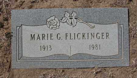 FLICKINGER, MARIE G. - Yavapai County, Arizona | MARIE G. FLICKINGER - Arizona Gravestone Photos