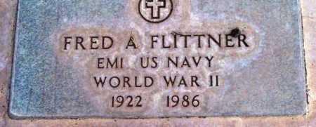 FLITTNER, FRED A. - Yavapai County, Arizona | FRED A. FLITTNER - Arizona Gravestone Photos