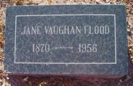 FLOOD, JANE VAUGHAN - Yavapai County, Arizona | JANE VAUGHAN FLOOD - Arizona Gravestone Photos