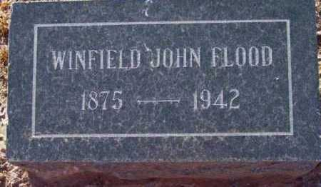 FLOOD, WINFIELD JOHN - Yavapai County, Arizona | WINFIELD JOHN FLOOD - Arizona Gravestone Photos