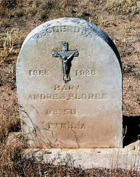 FLORES, ANDREW - Yavapai County, Arizona | ANDREW FLORES - Arizona Gravestone Photos