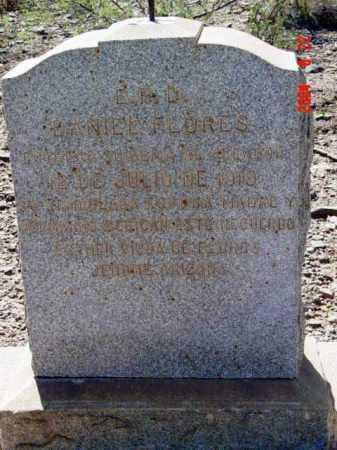 FLORES, DANIEL - Yavapai County, Arizona | DANIEL FLORES - Arizona Gravestone Photos