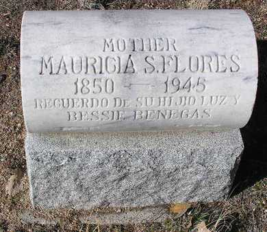 FLORES, MAURICIA S. - Yavapai County, Arizona   MAURICIA S. FLORES - Arizona Gravestone Photos