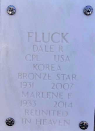 FLUCK, DALE ROBERT - Yavapai County, Arizona | DALE ROBERT FLUCK - Arizona Gravestone Photos