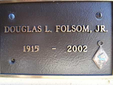 FOLSOM, DOUGLAS L., JR. - Yavapai County, Arizona | DOUGLAS L., JR. FOLSOM - Arizona Gravestone Photos