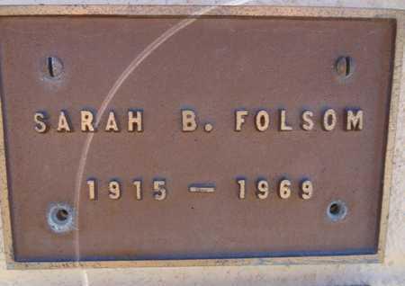 BLANTON FOLSOM, SARAH - Yavapai County, Arizona | SARAH BLANTON FOLSOM - Arizona Gravestone Photos