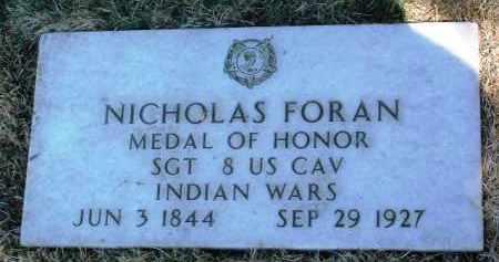 FORAN, NICHOLAS (SAM) - Yavapai County, Arizona | NICHOLAS (SAM) FORAN - Arizona Gravestone Photos