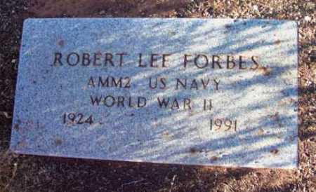 FORBES, ROBERT LEE - Yavapai County, Arizona | ROBERT LEE FORBES - Arizona Gravestone Photos
